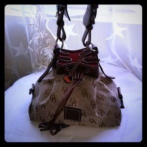 Dooney and bourke medium sized handbag tie